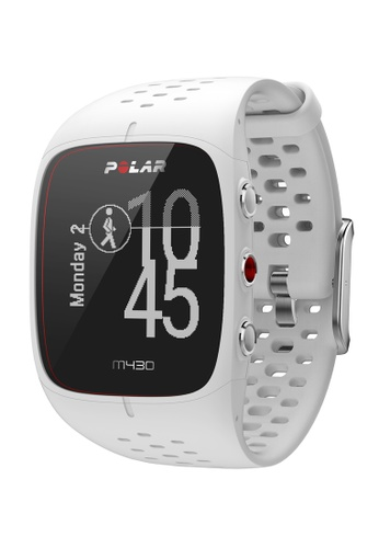 Polar white POLAR M430 GPS Running Watch (White) PO255AC2VBXIHK_1