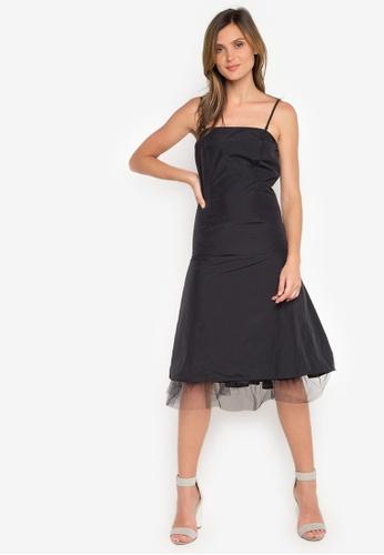 Oxmo black Strappy Dress OX172AA71RVSPH_1