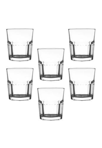 Union Glass n/a Thailand Premium Clear Glass Rock Glass 306ml - 10.5oz Set of 6 CB111HL661030FGS_1