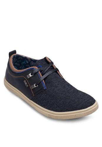 異材質拼接繫esprit causeway bay帶休閒鞋, 鞋, 休閒鞋