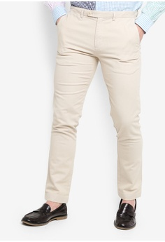 f9e641dde42 Brooks Brothers beige Red Fleece Linen Cotton Pants 463FBAA8B43B9EGS 1