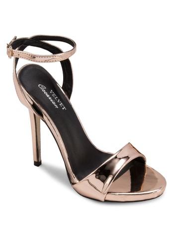 esprit香港分店Occasion 繞踝高跟涼鞋, 女鞋, 鞋
