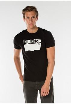 harga Levi's Destination Tee Indonesia - Black Zalora.co.id