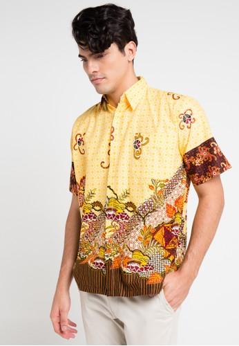 Adikusuma yellow and multi Hem Batik Katun Prima AD742AA0VQRSID_1