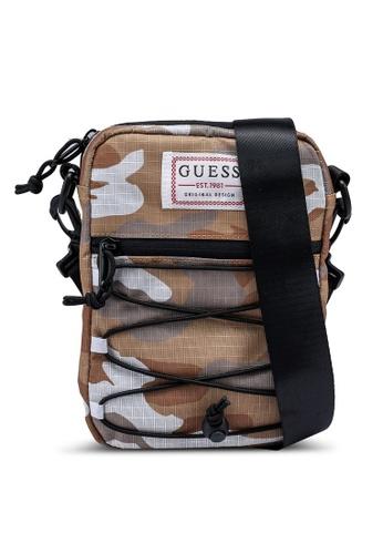 GUESS beige Expedition Crossbody Bag 0A119AC0B1B2A3GS_1