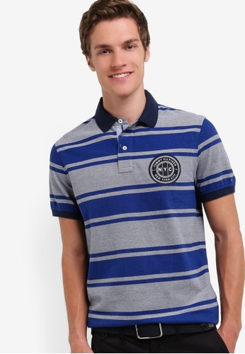 Tommy Hilfiger BAXTER STP POLO S/S SF TO861AA17VNEMY_1