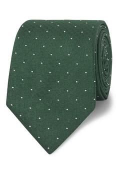 2ee153a2f6fd T.M. LEWIN green T.M.Lewin Classic Green Pin Spot Silk Slim Tie  9B65EAC41C30F0GS_1