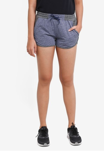 UniqTee black Quick Dry Stretchable Shorts 75C9BAA18E8013GS_1