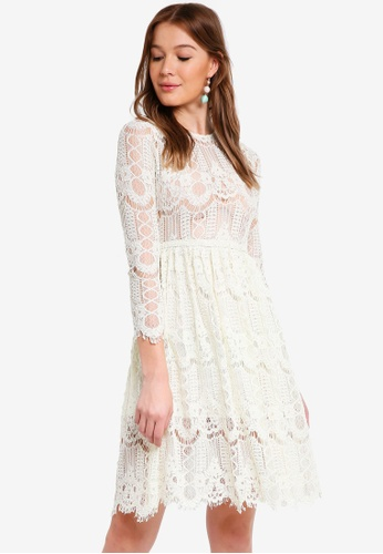 Buy OVS Lace Dress Online on ZALORA Singapore c145dba0fb46