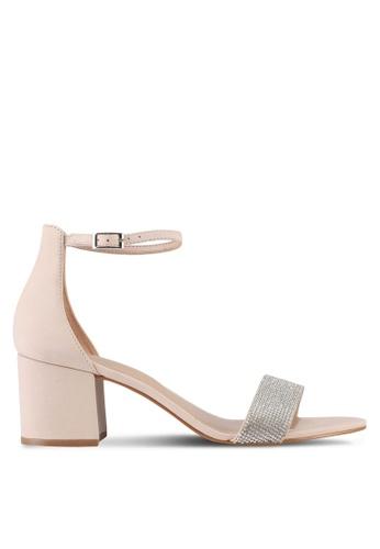 ALDO beige Gladoniel Heeled Sandals BBC6DSHCF6F3E4GS_1