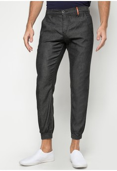 Gripper Chambray Jogger Jeans