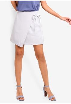 21e5681629 ZALORA BASICS multi Basic Front Wrap Skirt E89A3AAF61A9E4GS_1
