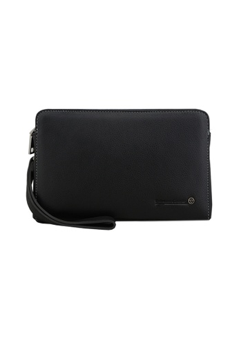 EXTREME black Extreme Genuine Leather Clutch Bag FA9D8AC5C815EAGS_1