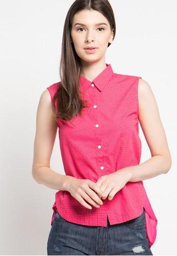 Cressida Ladies red Fashion Shirt CR653AA53JSSID_1
