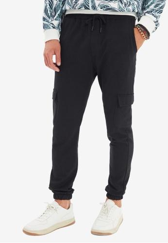Trendyol black Cargo Jogger Pants E2302AAC316BEAGS_1