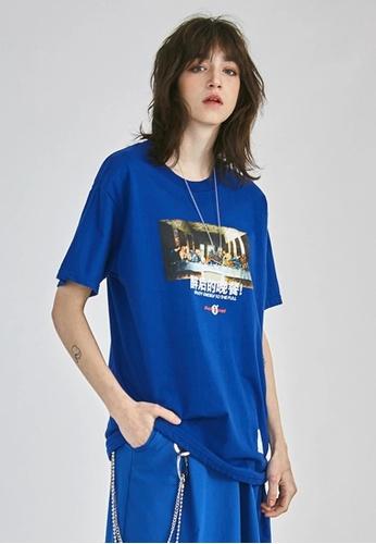 Twenty Eight Shoes Trend Printed Short T-shirt 91902S 53189AAD5F29EEGS_1