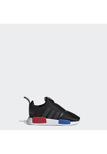 ADIDAS black adidas Originals NMD 360 Shoes 5C7B8KS231CEB7GS_1