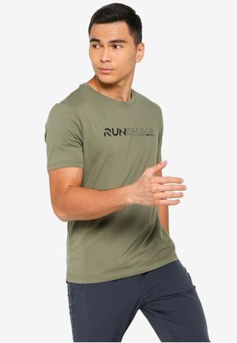 361° green Running Series Short Sleeve T-Shirt 9D639AA38602D2GS_1