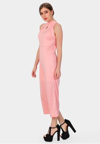 SJO & SIMPAPLY pink SJO's Aperture Salem Women's Jumpsuit SJ108AA76CDRID_1