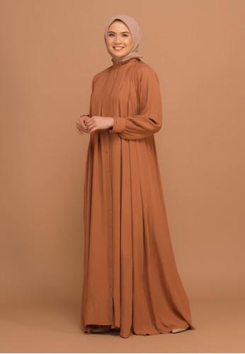 Tufine orange Balqis Dress 237E6AA3F5FBFBGS_1