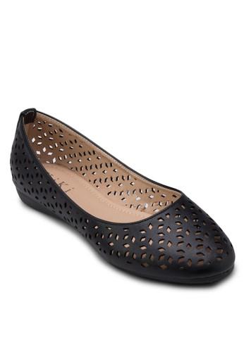鏤空平底鞋, 女鞋,zalora鞋 鞋