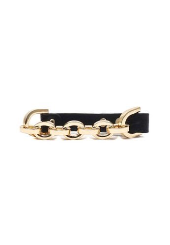 Istana Accessories black Gelang Goldina Chain Hitam 49EB7AC398D892GS_1