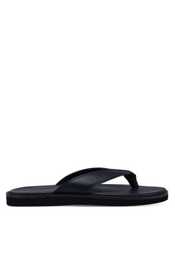 Call It Spring black Aadorwen Flat Sandals 05FB6SH2DC966EGS_1