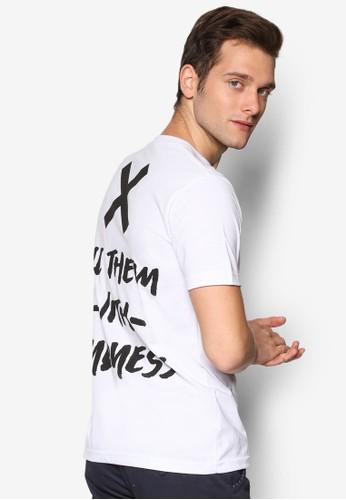 Kindness 文字印花圓領短袖esprit 價位TEE, 服飾, T恤