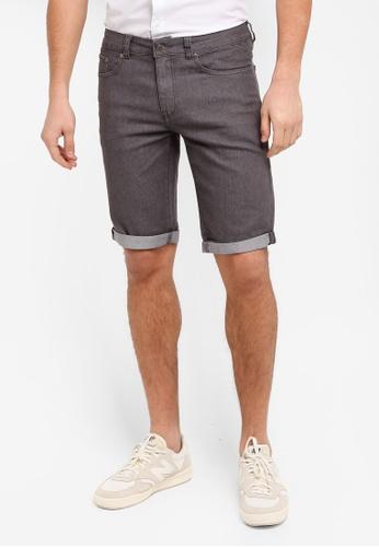 threads by the produce grey Bermudas Shorts D8897AA5FF2E1DGS_1