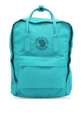 Fjallraven Kanken green Re-Kanken Backpack FJ242AC89QHIID_1