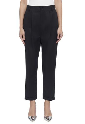 DKNY black DKNY Women Straight Leg Zip Front Pant 23E01AA8C31456GS_1