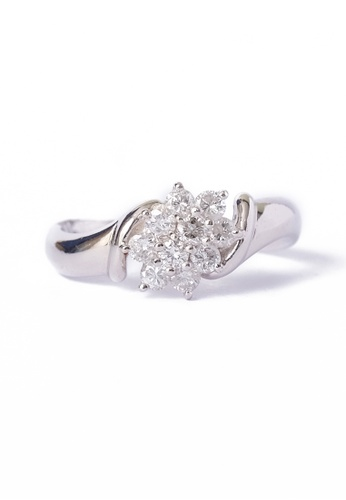 CEBUANA LHUILLIER JEWELRY silver Pt Pt Lady Ring With Diamonds EDE9FAC92DE049GS_1