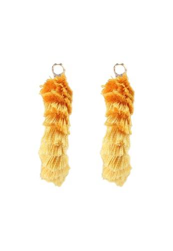 ALDO yellow Laremeth Pierced Earring CE29AAC91BFE0BGS_1