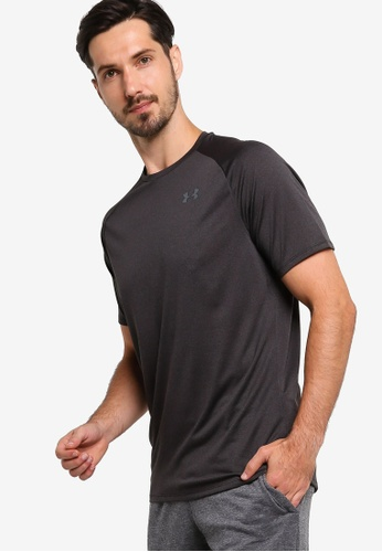 Under Armour black UA Tech™ T-Shirt 9F678AABA9876FGS_1