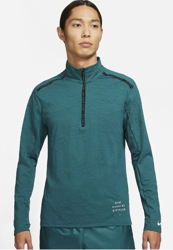 Nike green Men's Dri-FIT Element Run Division A8FDEAA4E33DDAGS_1