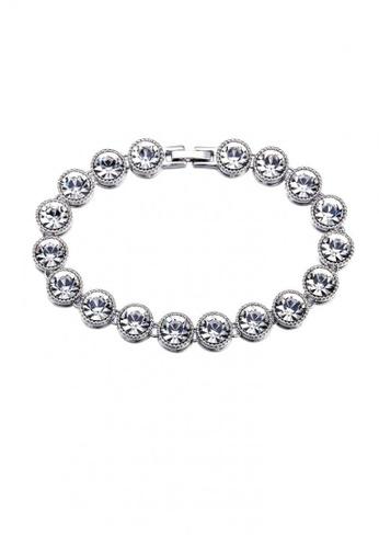 ADORA Swarovski Clear Crystal Bracelet AD365AC2VS2EHK_1