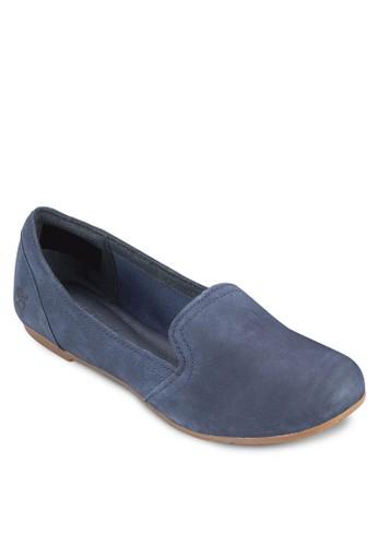 Ellsworth 皮革平底懶人鞋, 女鞋esprit 童裝, 鞋