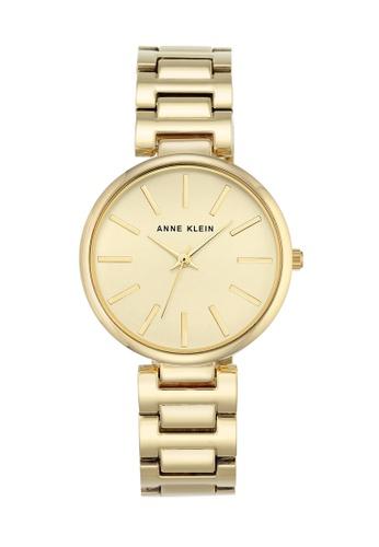 Anne Klein gold Anne Klein Ladies - Alloy Bracelet - AK-2786CHGB AN844AC0RH88MY_1