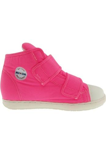 Maxstar Maxstar Women's 203 Dual Velcro Hidden Heel Canvas Casual Shoes US Women Size MA164SH38PWRSG_1