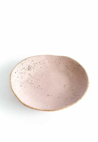 KRA Sanctuary pink Sii Chompuu Free-Form Side Plate 5B0A1HL92E0F71GS_1