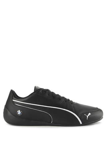 Puma black Bmw Ms Drift Cat 7 Shoes C934ESH3A7538DGS_1