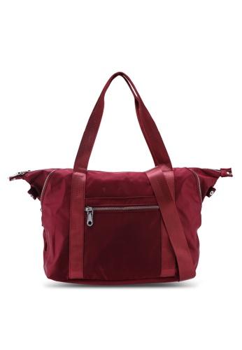 Buy NUVEAU Lightweight Nylon Shoulder Bag Online on ZALORA Singapore 09de1744a3ff0