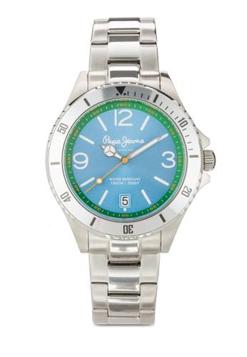 R2353106005 Brian 金屬鍊飾男士esprit品牌介绍圓錶, 錶類, 飾品配件