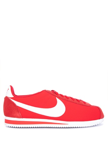 Nike red Classic Cortez Nylon Shoes FE412SHF724BF0GS_1