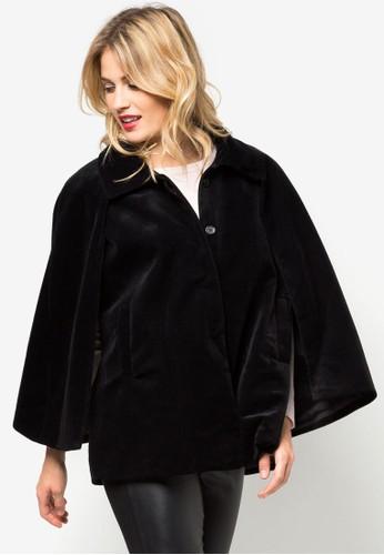 層疊蝙蝠袖外套, 服飾, 夾克 &amzalora 順豐p; 大衣