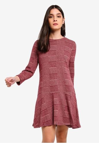 aec3982a29485b Shop Vero Moda Touch 7 8 Peplum Short Dress Online on ZALORA Philippines