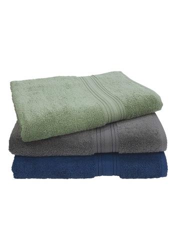 Martex Bundle Of 3 Martex (USA) Purity 100% Combed Cotton Bath Towel 70x140cm 490 gram. FFF8AHL561716BGS_1