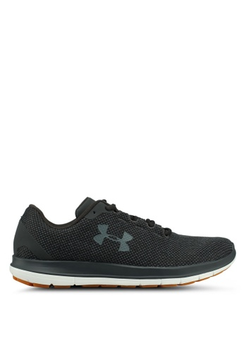 Under Armour black UA Remix FW18 Shoes 0DE8ESHAAF3130GS_1