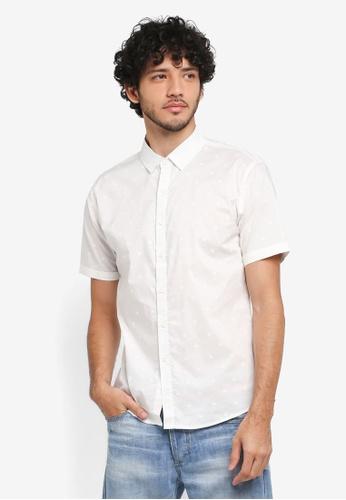 JAXON white Hamburger Aop Shirt 3E7C6AA8A33983GS_1