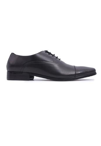 Hanson Bootmaker black Hanson Bootmaker LacEasy Oxford - Black 11F65SHAC6498CGS_1